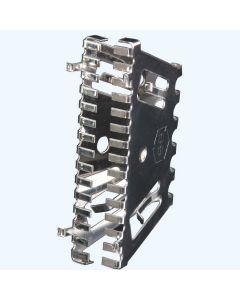 Bijenbekje RVS stootvoegrooster 50 mm (10 stuks)