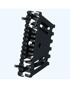 Bijenbekje RAL7016 stootvoegrooster 50 mm (10 stuks)
