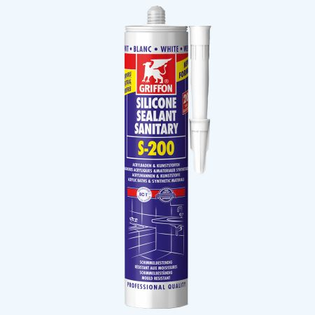 Griffon Silicone sanitaire S-200 300 ml (wit)