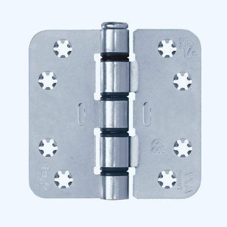 AXA Easyfix veiligheidsscharnier ronde hoeken, staal, 89 x 89 mm