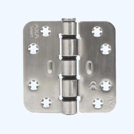 AXA Easyfix schijflagerscharnier ronde hoeken, RVS, 89 x 89 mm