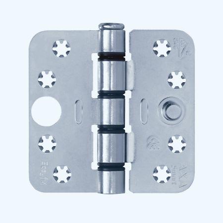 AXA Easyfix veiligheidsscharnier ronde hoeken, SKG***, staal, 89 x 89 mm