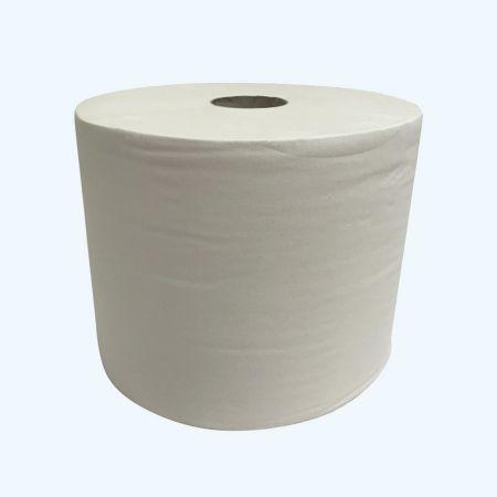 Poetsrol 1-laags wit 24 cm x 1000 meter