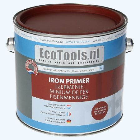 EcoTools Ijzermenie roodbruin 2,5 liter