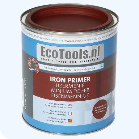 EcoTools Ijzermenie roodbruin 750 ml