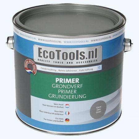 EcoTools grondverf grijs 2,5 liter