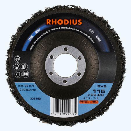 Reiningsschijf SVS 115 x 22,23 mm (Rhodius)