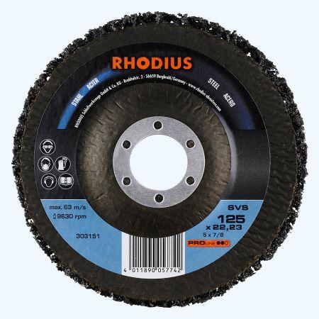 Reiningsschijf SVS 125 x 22,23 mm (Rhodius)