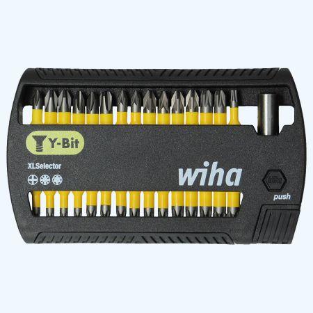 31-delige Wiha Bitset XLSelector Y-bit 25 mm