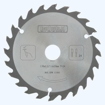 zaagblad PROF 130 x 20 mm T=24