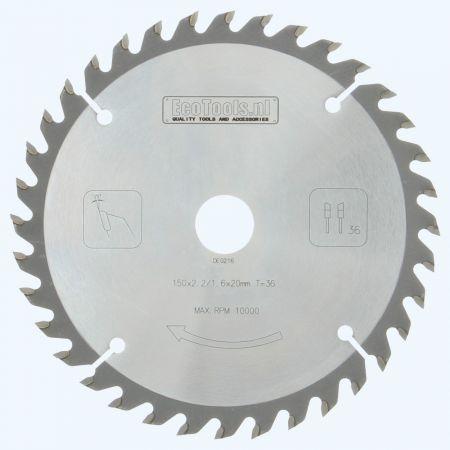 HM-zaagblad PROF 150 x 20 mm T=36
