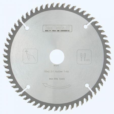HM-zaagblad PROF 150 x 20 mm T=60