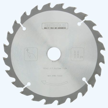 HM-zaagblad PROF 160 x 20 mm T=24