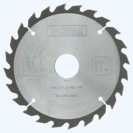 zaagblad 160 x 30 mm T=24