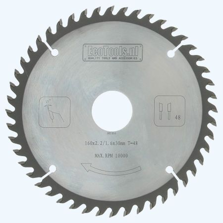 zaagblad  160 x 30 mm T=48