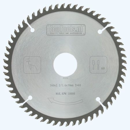 zaagblad  160 x 30 mm T=60