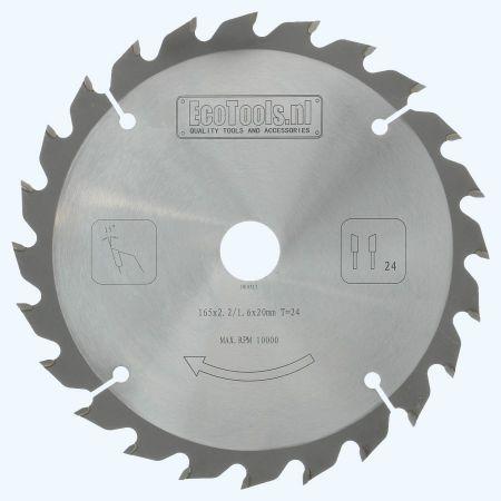 HM-zaagblad PROF 165 x 20 mm T=24