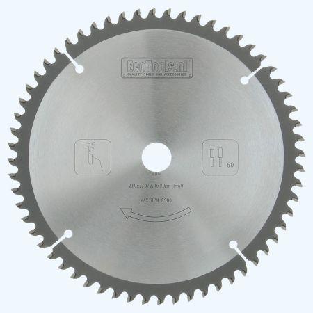 HM-zaagblad 210 x 20 mm T=60
