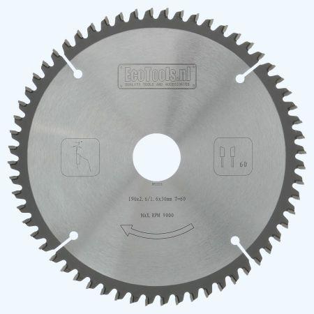 HM-afkortzaagblad Prof 190x30 T=60