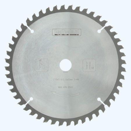 hardmetalen-afkortzaagblad-Prof-210x20mm-48-wisseltanden