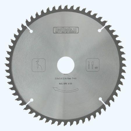 zaagblad-afkort-216x30xt60