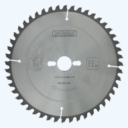 hardmetalen-afkortzaagblad-250x30mm-48-wisseltanden