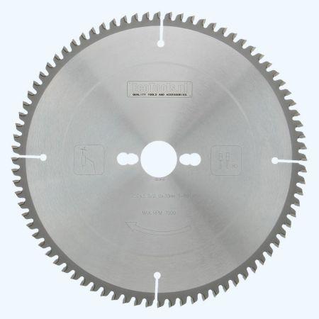 HM-zaagblad 250 x 30 mm T=80 (vlak-daktand)