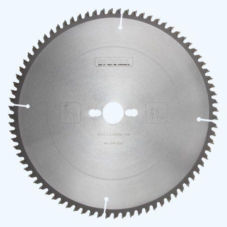 HM-zaagblad 305 x 30 mm T=100 (vlak-daktand)