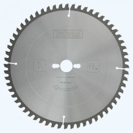 afkortzaagblad Prof 315 x 30 mm T=60