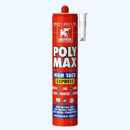 Griffon Poly Max High Tack Express 435 gram (wit)
