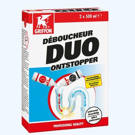 Griffon DUO ontstopper 2 x 500 ml
