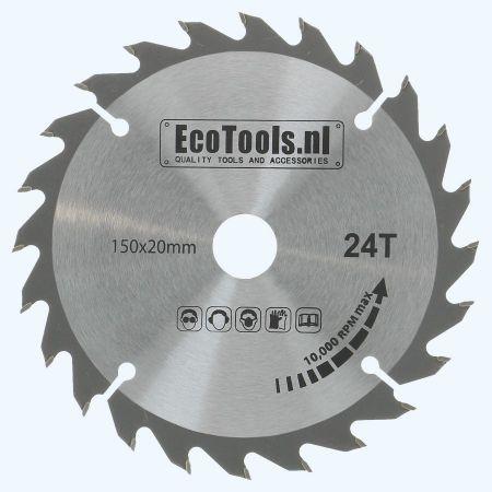 HM-zaagblad 150 x 20 mm T=24 (Eco-line)