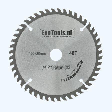 zaagblad 160 x 20 mm T=48