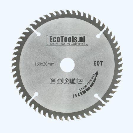 zaagblad 160 x 20 mm T=60