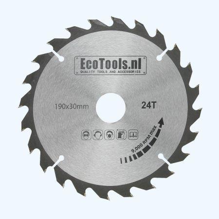 HM-zaagblad 190 x 30 mm T=24 (Eco-line)