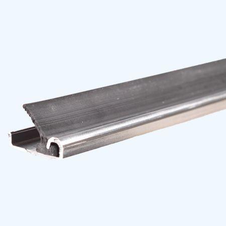 10 stuks aluminium tochtstrips A4 inbouw 2,3 meter