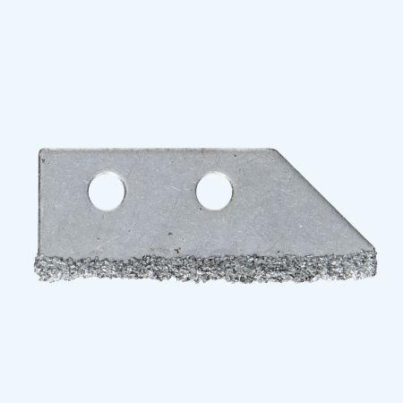 Carbide mes voor voegenkrabber