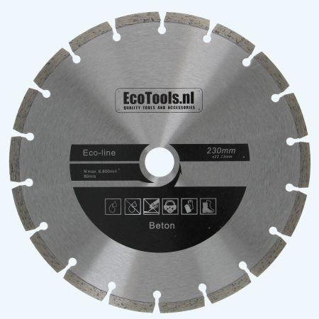 Diamantschijf beton 230 mm (eco-line)