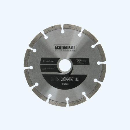 Diamantschijf beton 150 mm (eco-line)