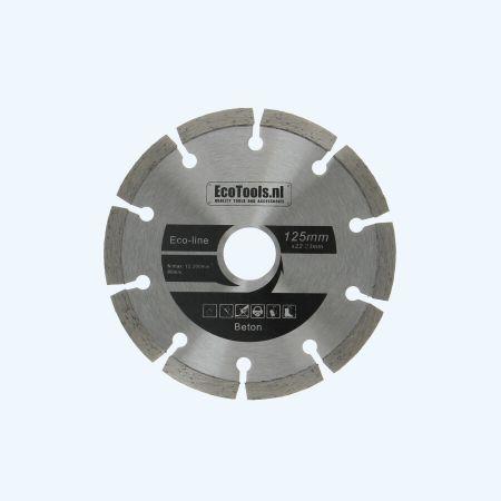 Diamantschijf beton 125 mm (eco-line)