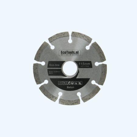 Diamantschijf beton 115 mm (eco-line)