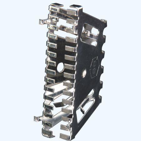 Bijenbekje RVS stootvoegrooster 70 mm (10 stuks)