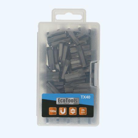 100 stuks Torx 40 bits