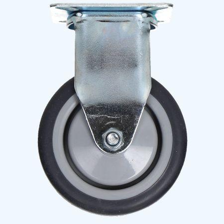 Bokwiel TPR 75 mm 50 kg