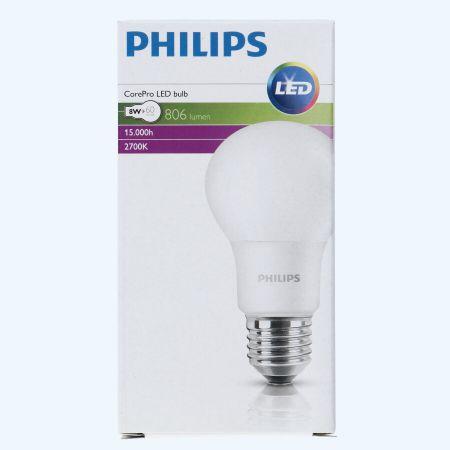 Phillips led lamp E27 8W