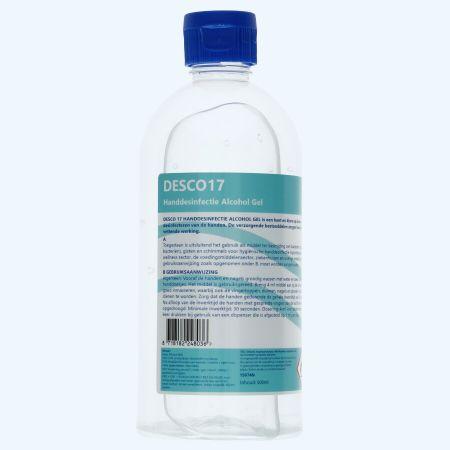 Handdesinfectie gel 500 ml