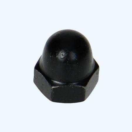 25 stuks dopmoeren M6 zwart