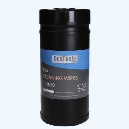 Eco cleaning wipes (70 stuks in pot)