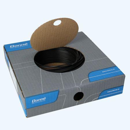 Donné VD Draad 1,5 mm² zwart (100 meter)
