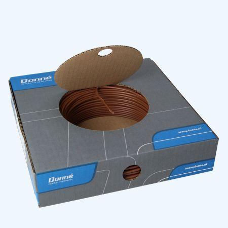 Donné VD Draad 2,5 mm² bruin (100 meter)